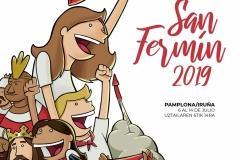 Cartel semifinalista San Fermín 2019
