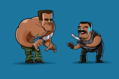 Ilustración Commando.