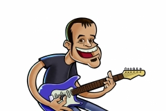 Ilustración rock