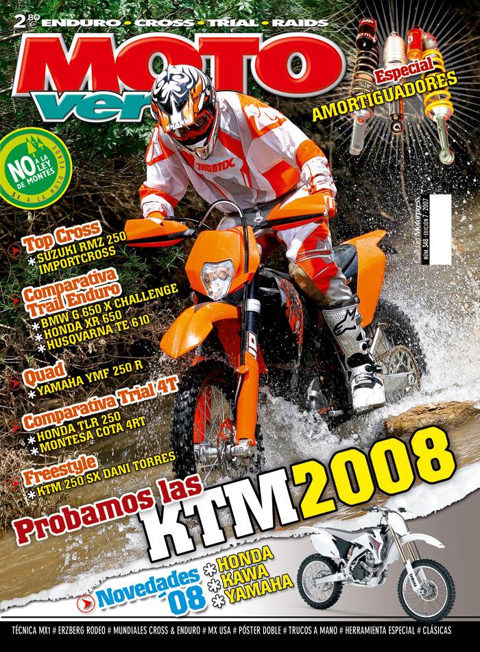 Portada revista Moto Verde