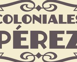 Logotipo Coloniales Pérez