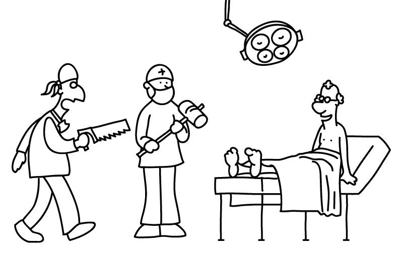 Ilustración para la campaña de publicidad de seguros de slaud de STA Seguros.