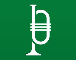 Logotipo para la Banda Municipal de Música de Pamplona, La Pamplonesa.