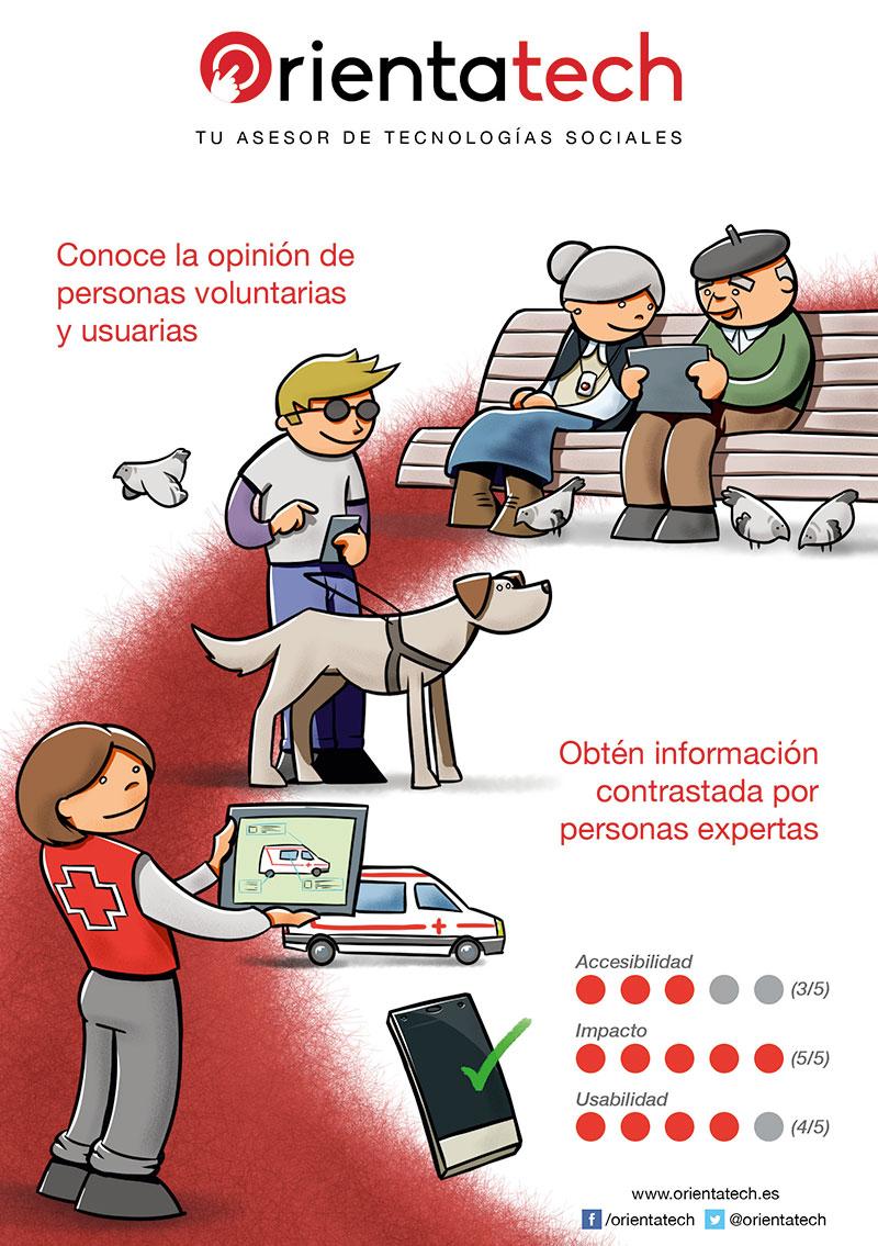 Orientatech Cruz Roja